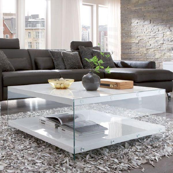 White Gloss Coffee Table Sale  Table Designs Plans  Pinterest Prepossessing Centre Table Designs For Living Room 2018