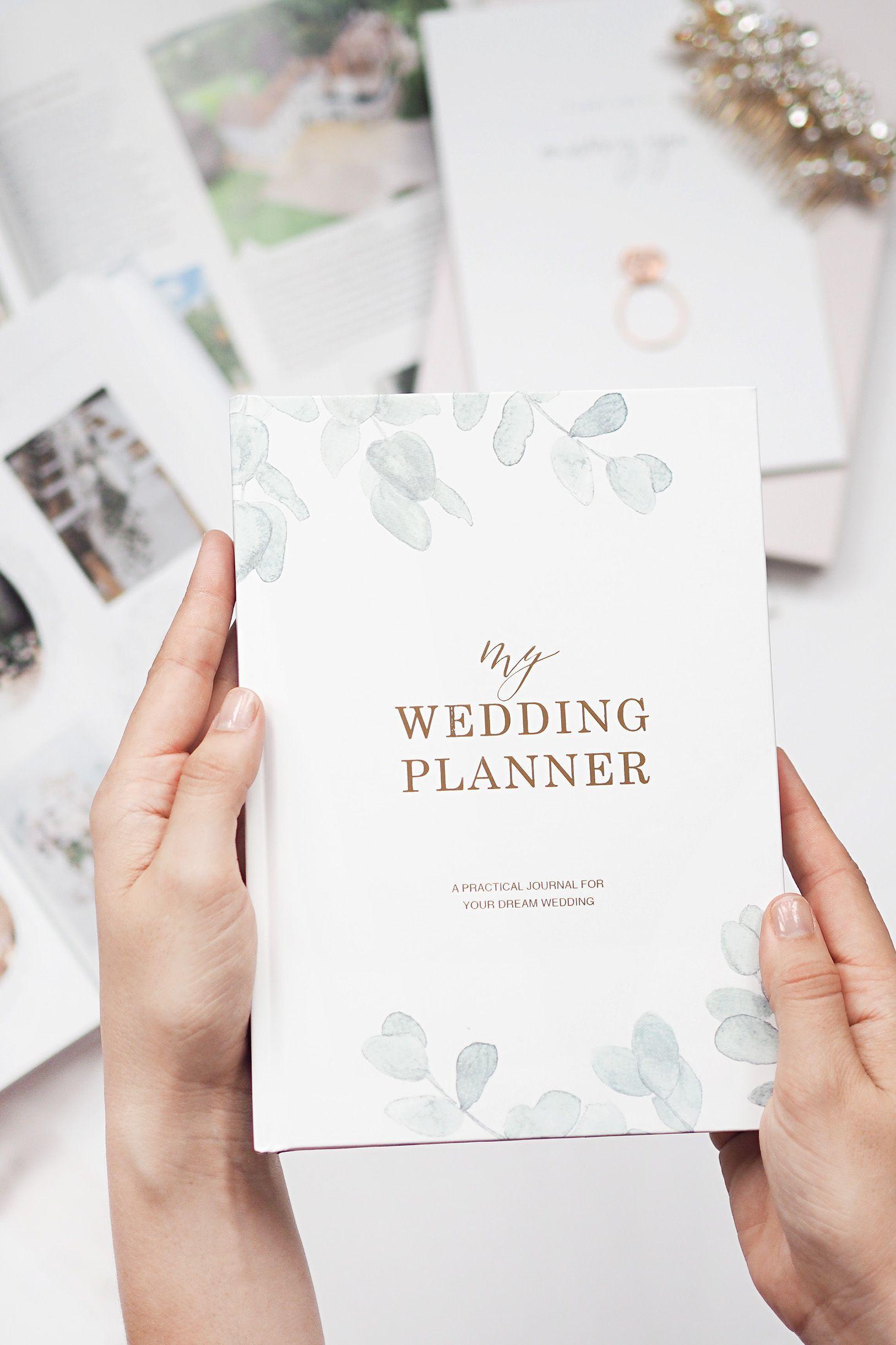 Luxury Wedding Planner Organiser Perfect Engagement T