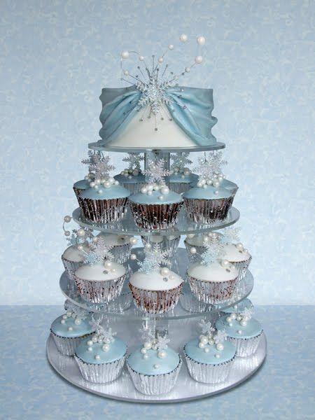 Cupcakes Take The Cake: Winter Wedding Cupcake Series Part 3