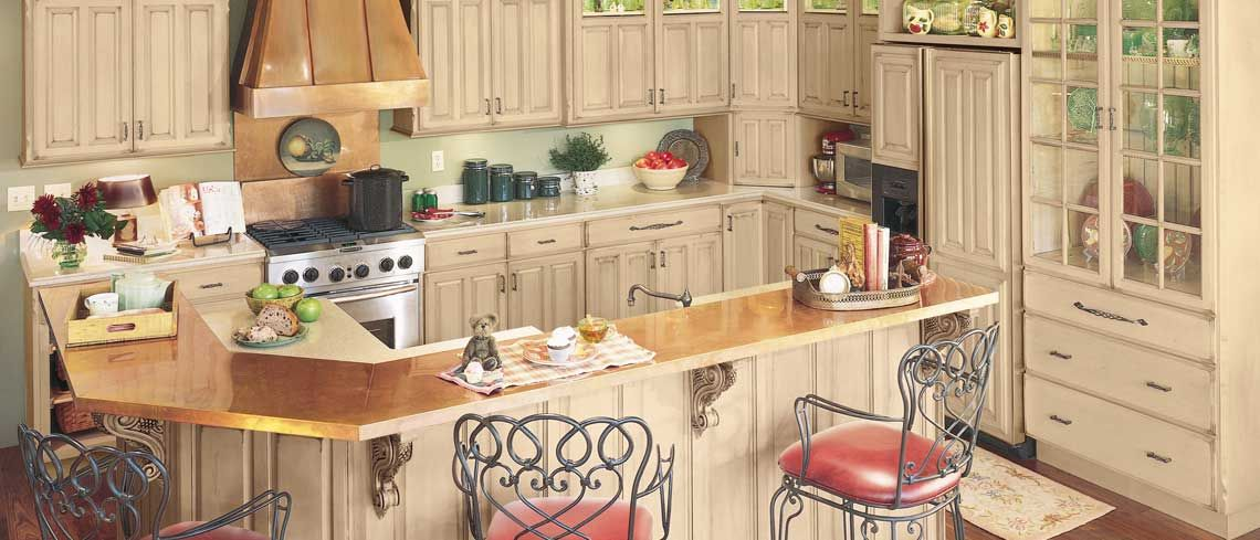 Portland door style in Maple finished in Oatmeal | Kitchen ...