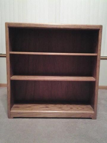 Book Shelf For 2 Adjule Shelves 35 Inches Wide 10 Deep And 37 Tall