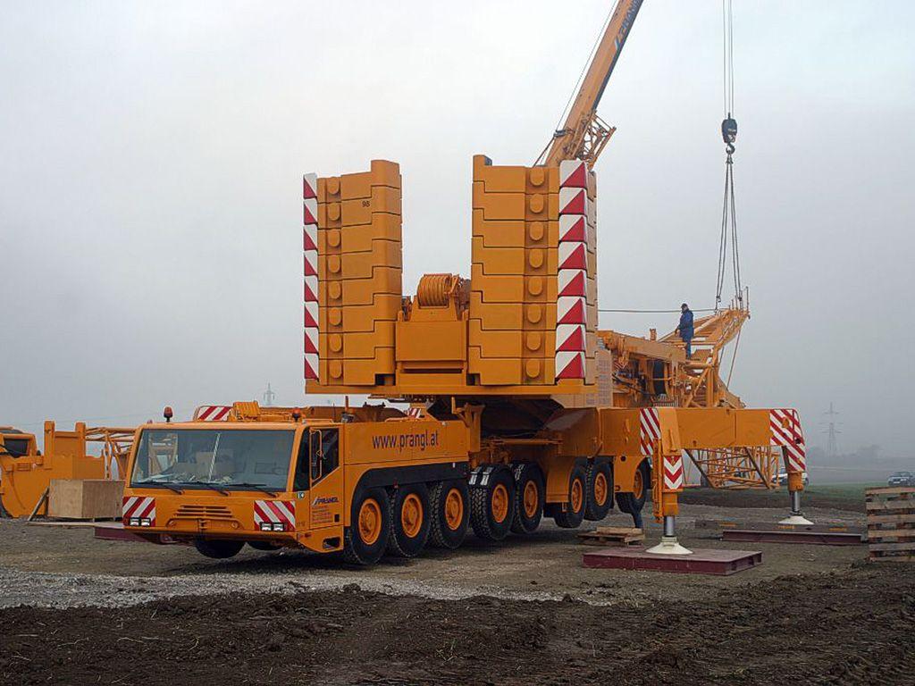 Demag Mobile Crane Relevant Machinery Construction