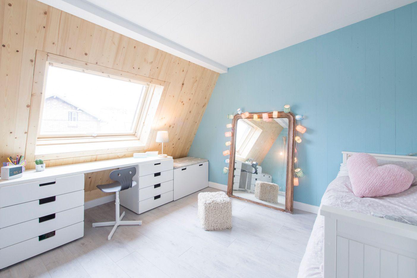 Chambre fille couleur pastel et bois   Dedans   Pinterest