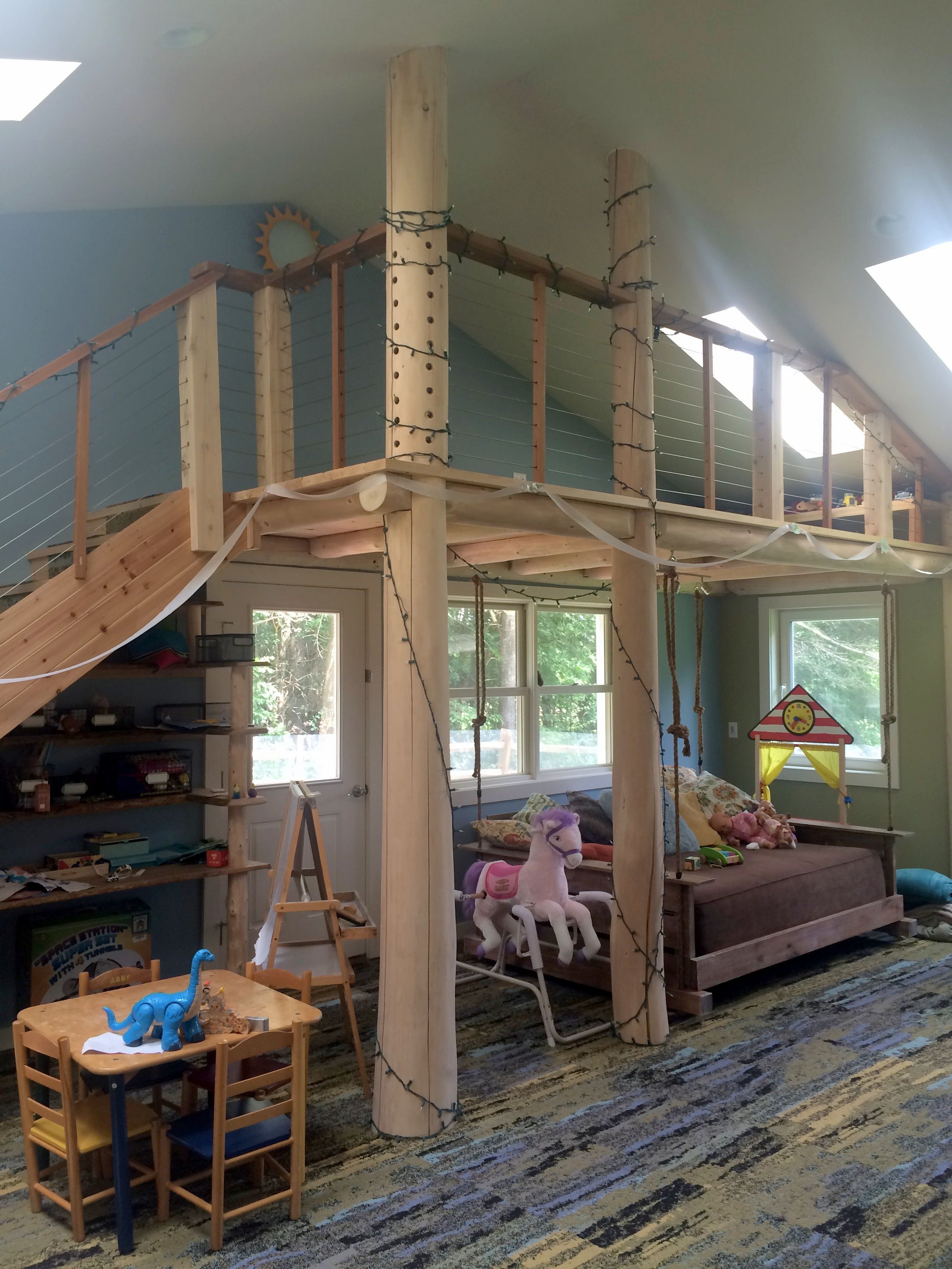 Pin By Understory Design Build On Treehouse Playroom Tree House Building Design Dream Home Design
