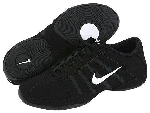 new style d8814 dca86 Womens Nike Musique III SL Nubuk Black Fitness Dance Shoe 318076 011
