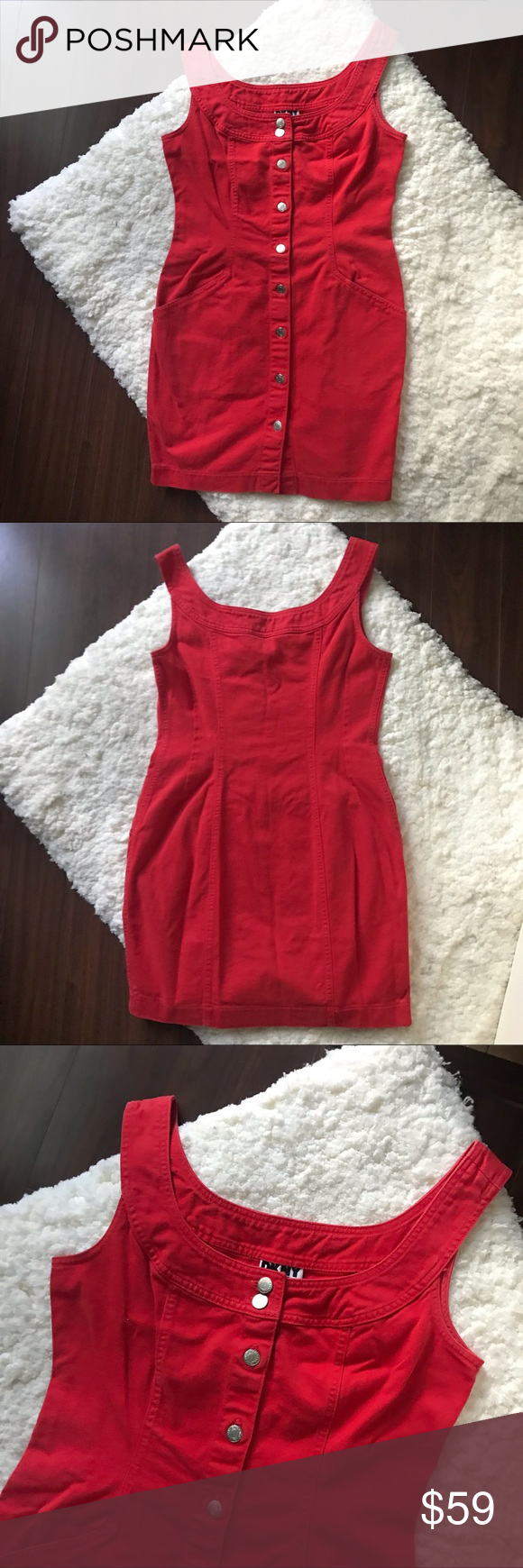 DKNY Dress Circa 1990/'s