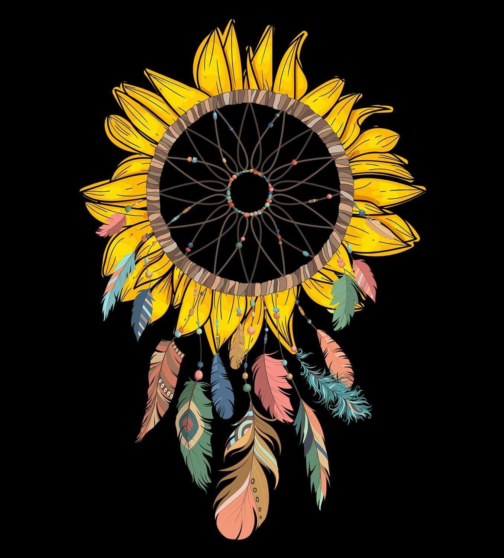 Pin by Michelle Funderburk on Sunflowers | Sunflower art ...