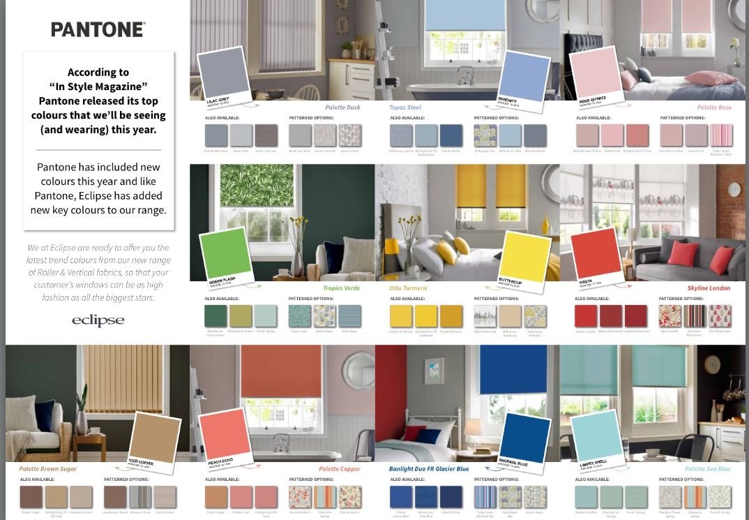 Be BANG ON trend with the new @eclipseblinds colour tones and of course Beacon Blinds offer the full range