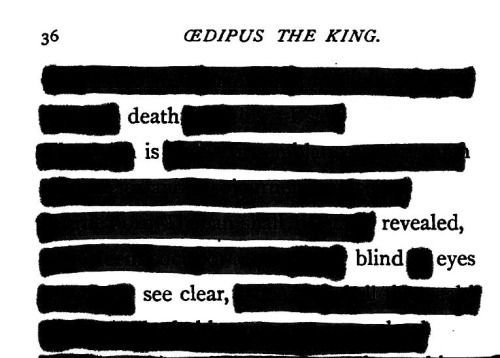 oedipus the king sight and blindness essay Avoiding tragic clichés in oedipus the king  the numerous references to sight  and blindness serve a similar purpose: they anticipate the.