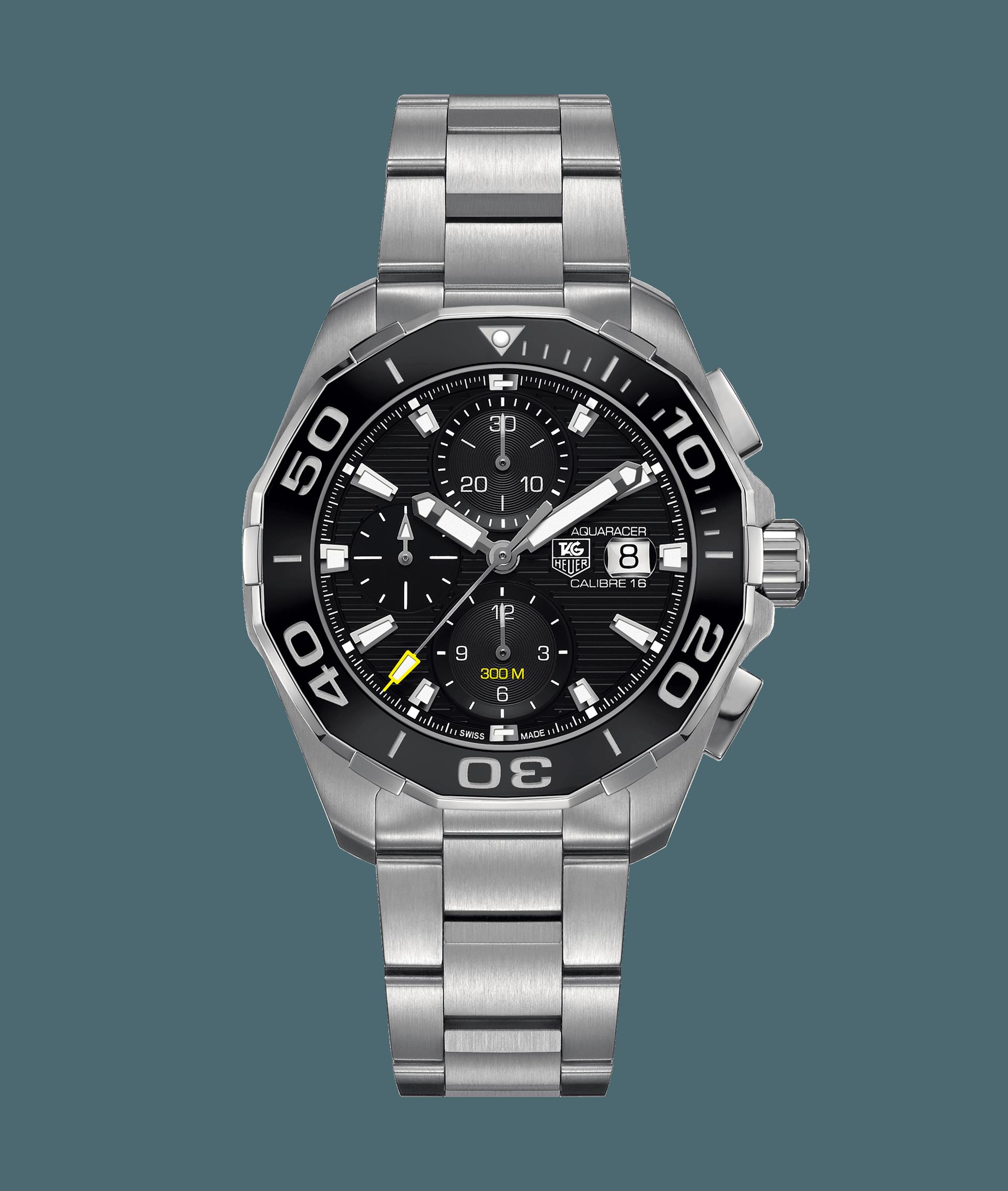 d35fe179e40 Aquaracer Calibre 16 Automatic Chronograph 300M - 43MM Ceramic Bezel  CAY211A.BA0927 TAG Heuer watch price