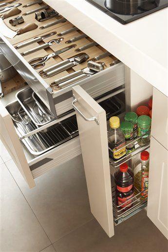 Secretos Para Ordenar La Cocina Muebles De Cocina Almacenaje De Cocina Cocinas Y Banos