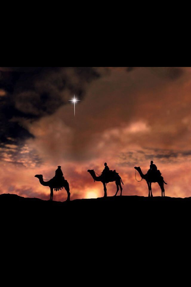 Wise Men still seek HIM | Christmas pictures, Christmas scenes