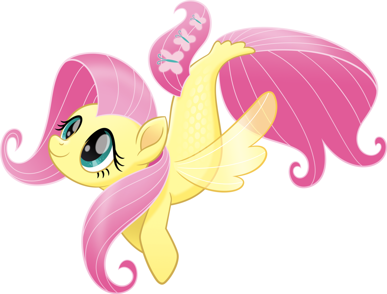 1502611 - absurd res, fluttershy, my little pony: the movie, safe, sea  ponies, seaponified, … | My little pony poster, My little pony movie, My  little pony drawing