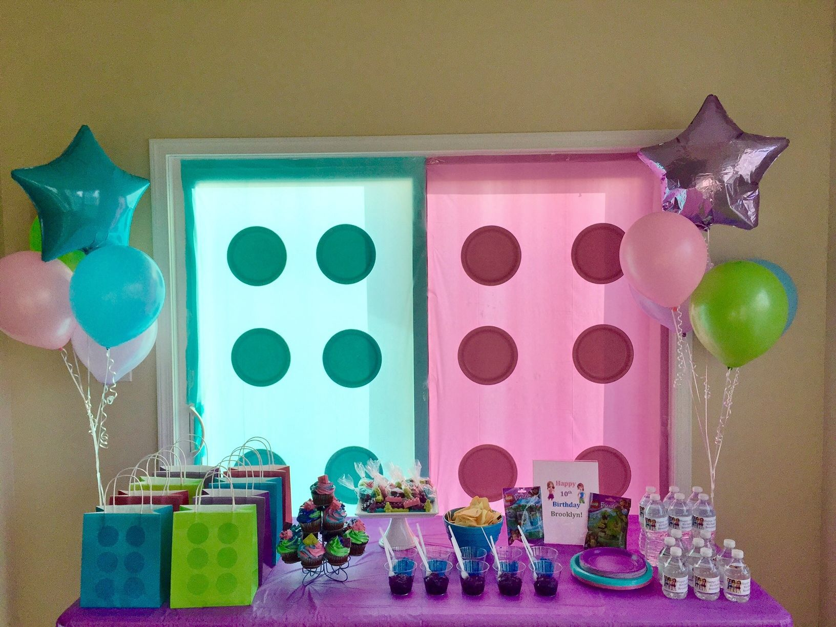 Pin On Lego Friends Girls Birthday Party