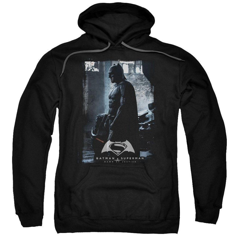 Batman V Superman Bat Poster Adult Pull-Over Hoodie