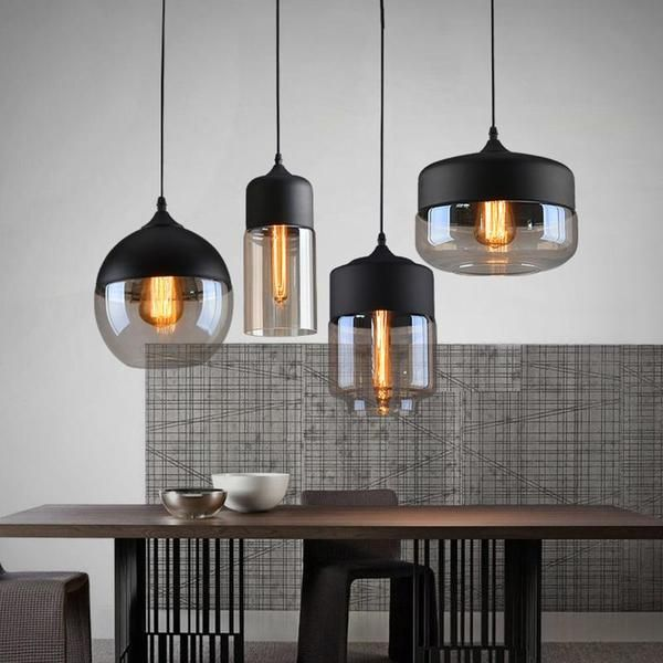 Modern Nordic Glass Pendant Light #pendantlighting
