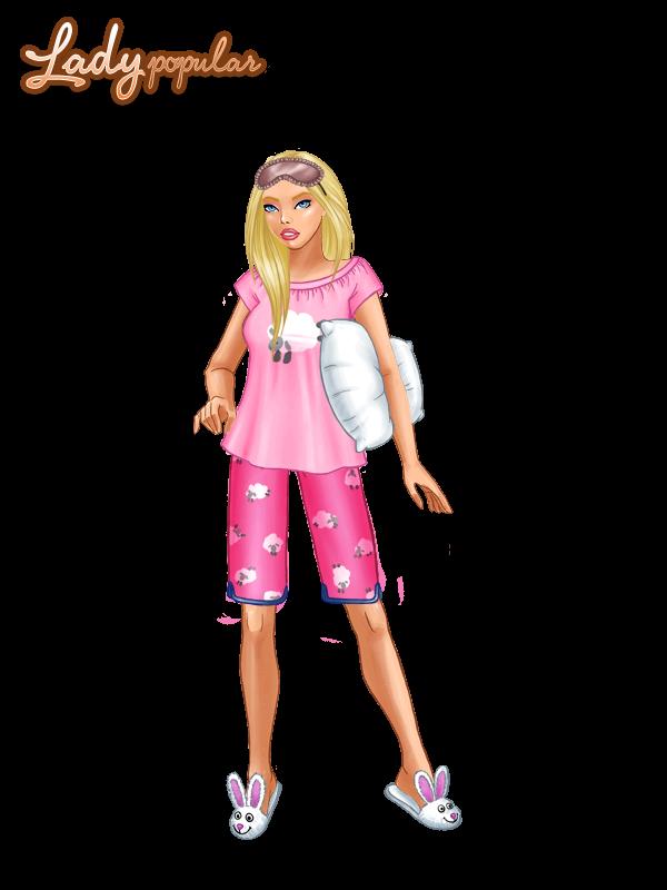 С розова пижамка (ЛП)