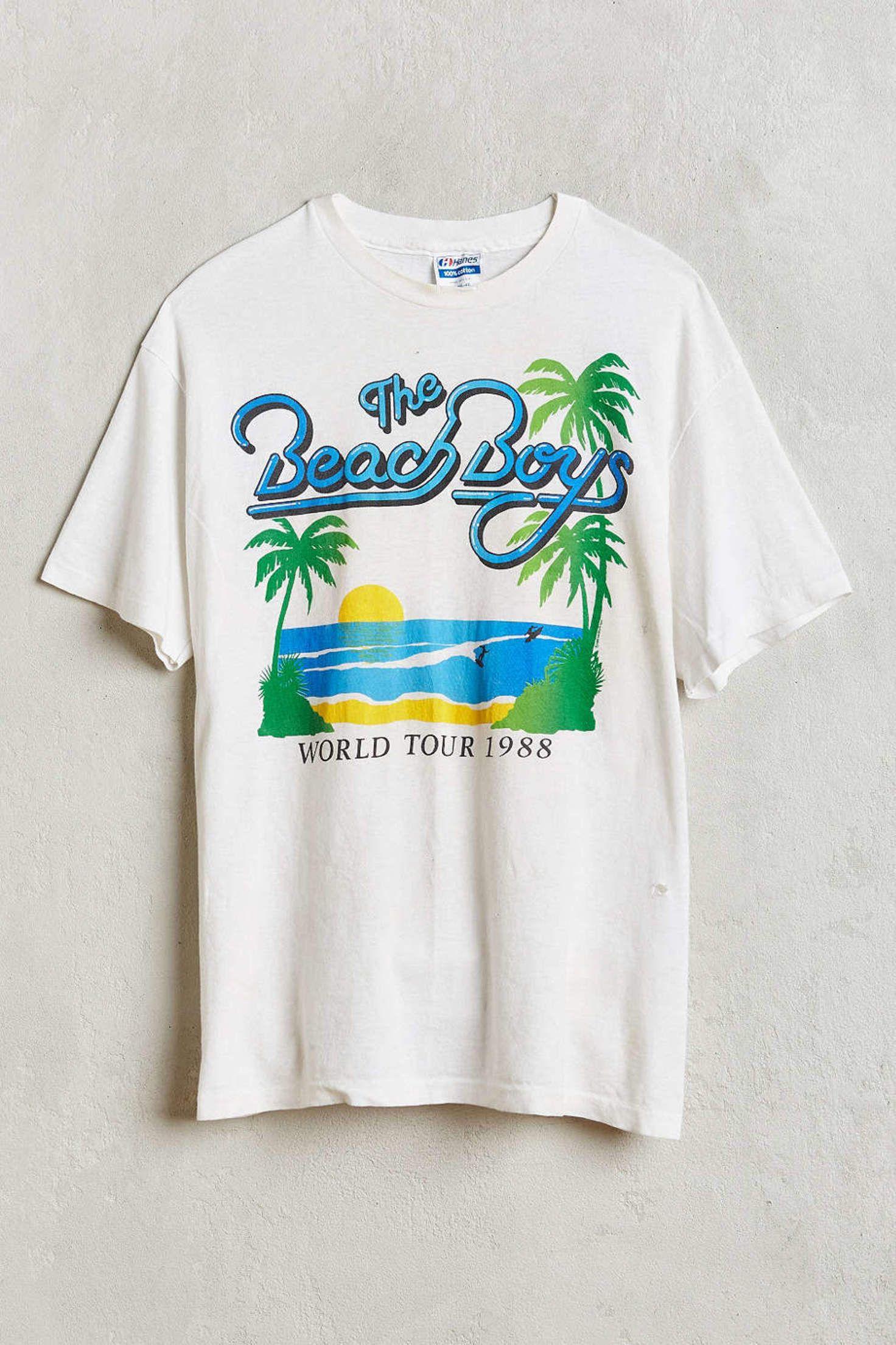 4cb9eae36876 Vintage Beach Boys Tee - Urban Outfitters