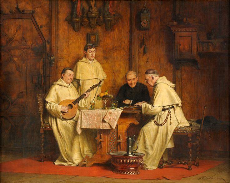 Thure Nikolaus F. Cederström (1843-194) — A Musical Duo (1200x955) | Genre — Life of the Monks and Nuns | Pinterest | Musicals www.pinterest.com736 × 585Buscar por imagen Thure Nikolaus F. Cederström (1843-194) — A Musical Duo (1200x955)