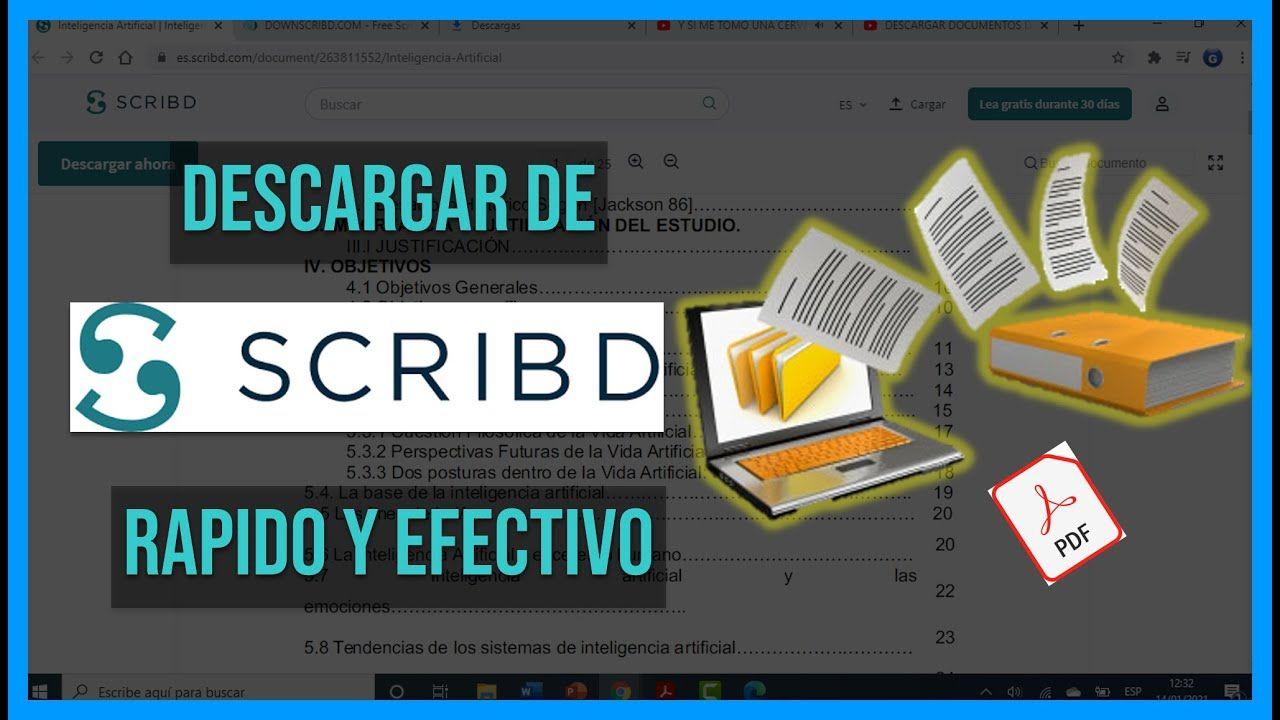 Descargar Documentos De Scribd 2021 Efectivo Sin Perder El Tiempo Youtube En 2021 Perder El Tiempo Perder Efectivo