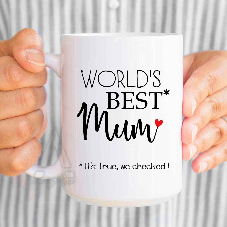 Funny Mom Birthday Gift World S Best Mum Coffee Mugs Christmas Gifts For New Mug Mommy From Daughter Mu380
