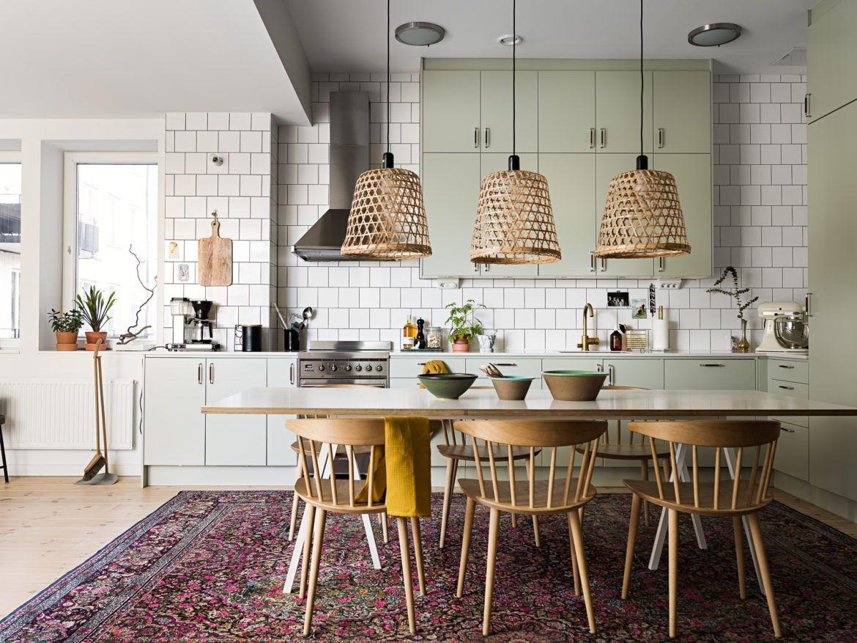 Idée déco ] Un tapis persan dans la cuisine  Cuisines design