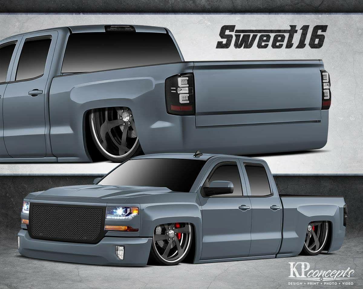 Chevy Silverado concept.. | Cartoons, concepts, renderings, rodart ...