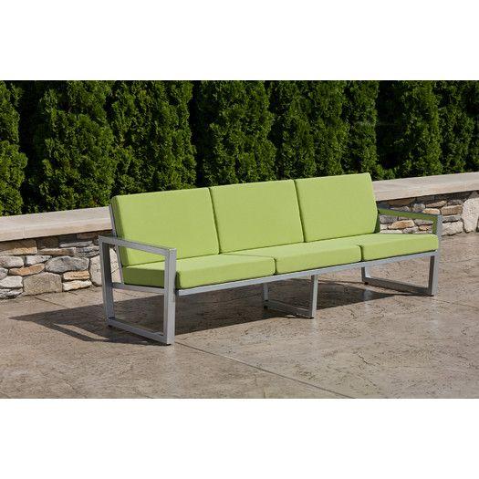Elan Furniture Vero Sofa with Cushions | AllModern