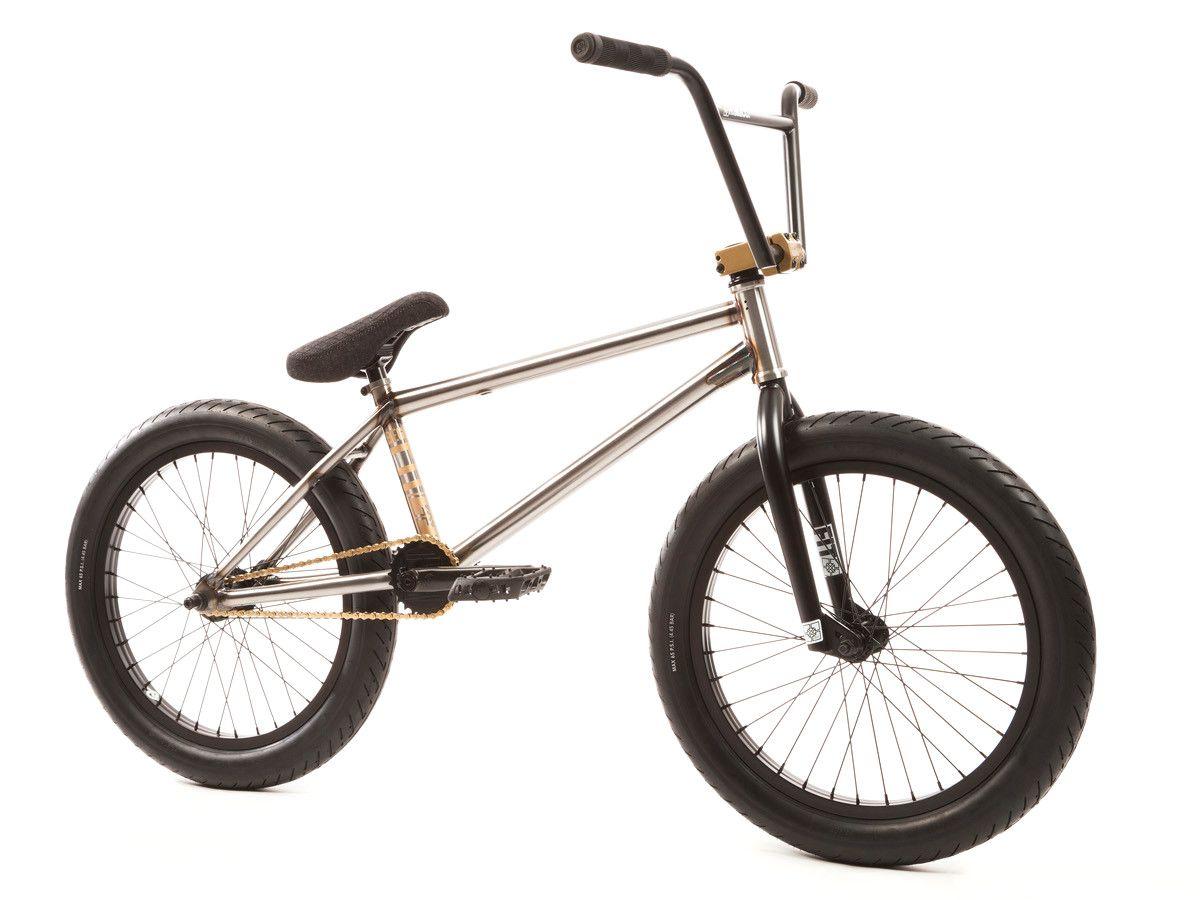 Fit Bike Co Begin 1 2017 Bmx Bike Gloss Clear Raw