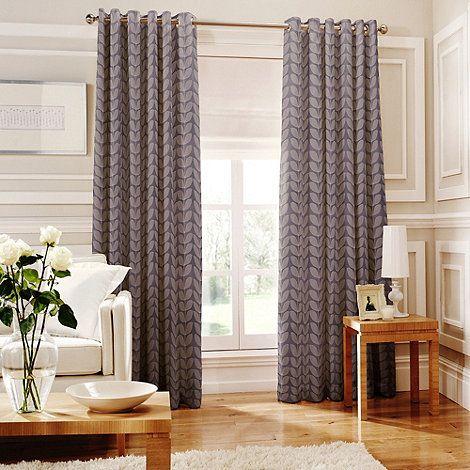 mauve pencil curtains ready luna made product