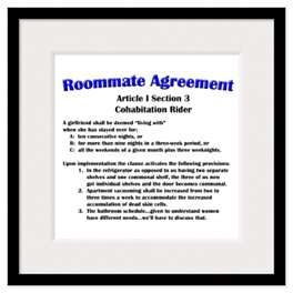 The Roommate Agreement  Big Bang Theory Wiki Roommate Agreement