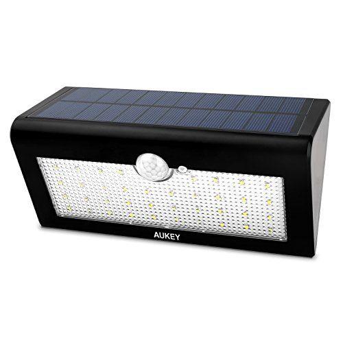 AUKEY Lámparas Solares Lámparas de Pared con Sensor de Movimiento al - lamparas para escaleras