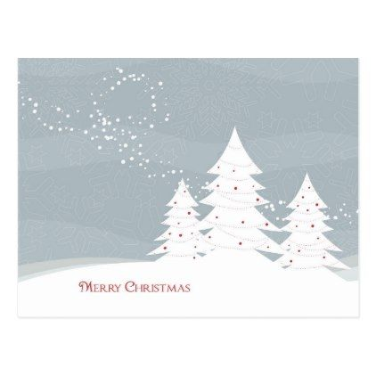 Beautiful Christmas Postcard