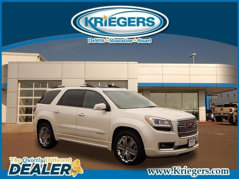 Used 2013 Gmc Acadia Denali For Sale In Dewitt Kriegers Of