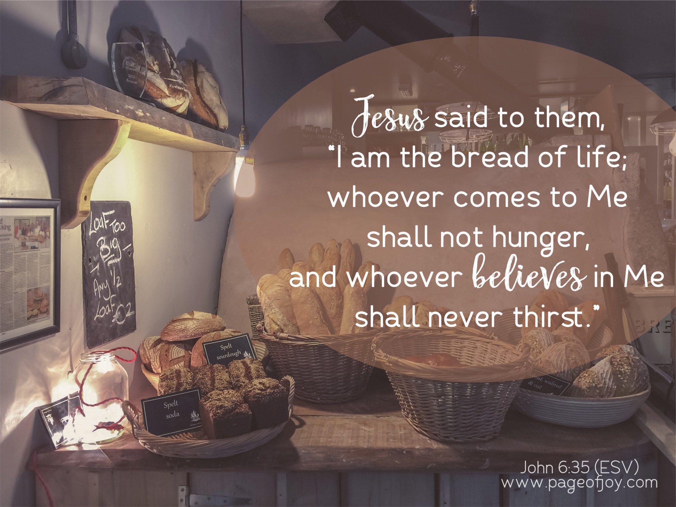 Jesus Is The Bread Of Life Printables Cards Labels Tags Art