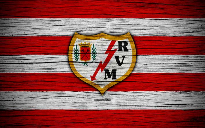Download Wallpapers Rayo Vallecano Fc 4k Segunda Division Soccer