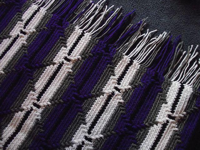 Ravelry Navajo Indian Diamond Pattern Afghan Pattern By Yvonne R