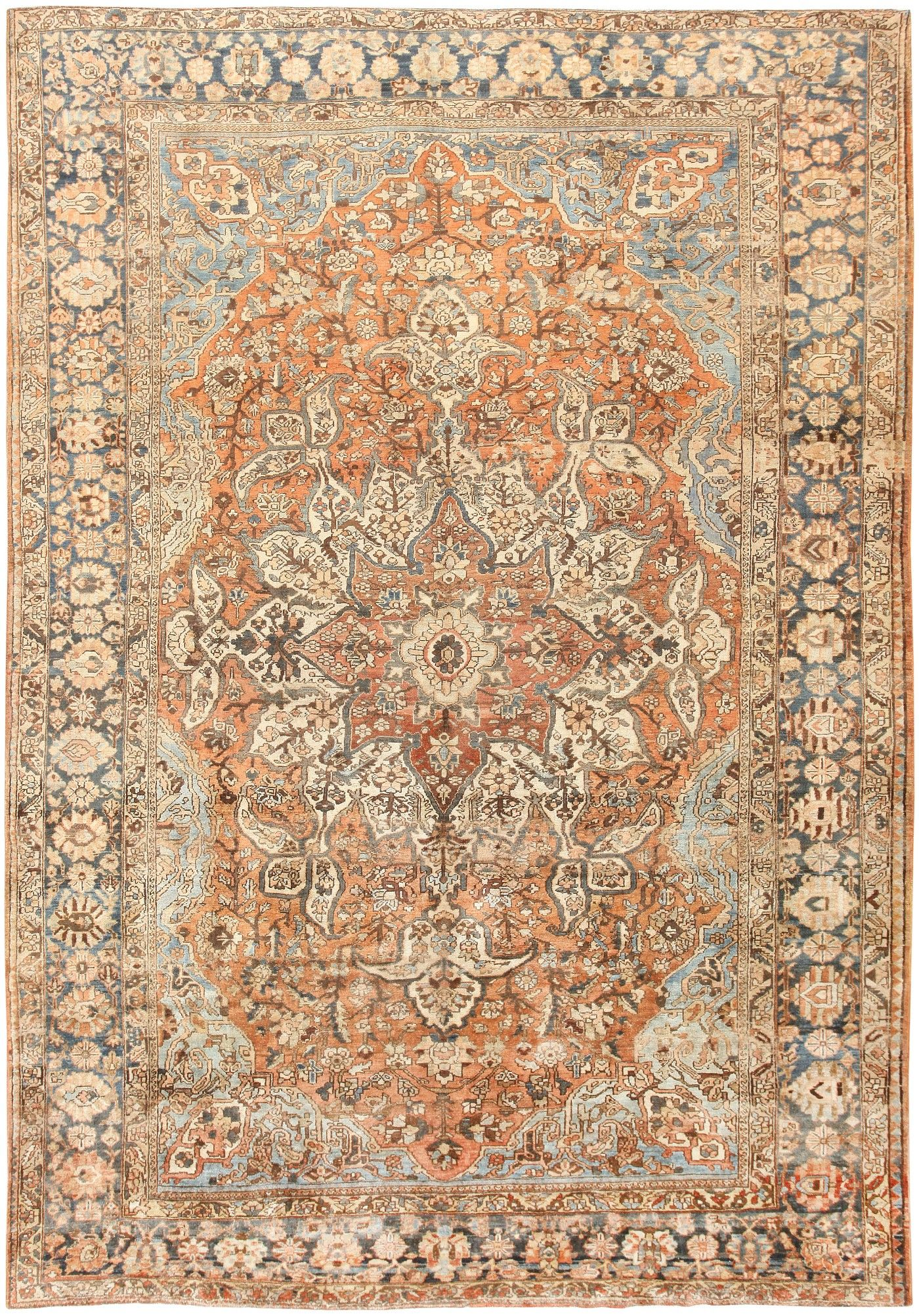 Click Here To View This Absolutely Gorgeous Vintage Persian Bakhtiari Rug 46836 From The Nazmiyal Collection In New York City