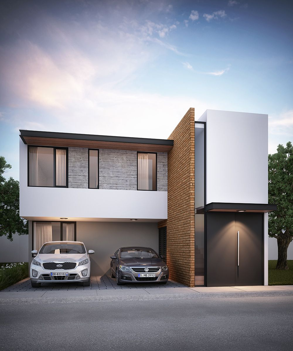 Amur Modern Architecture en 2019 Fachadas casas