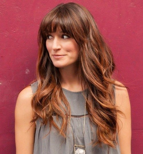 50 Best Hairstyles For Square Faces Rounding The Angles Square Face Hairstyles Long Hair With Bangs Easy Hairstyles For Long Hair