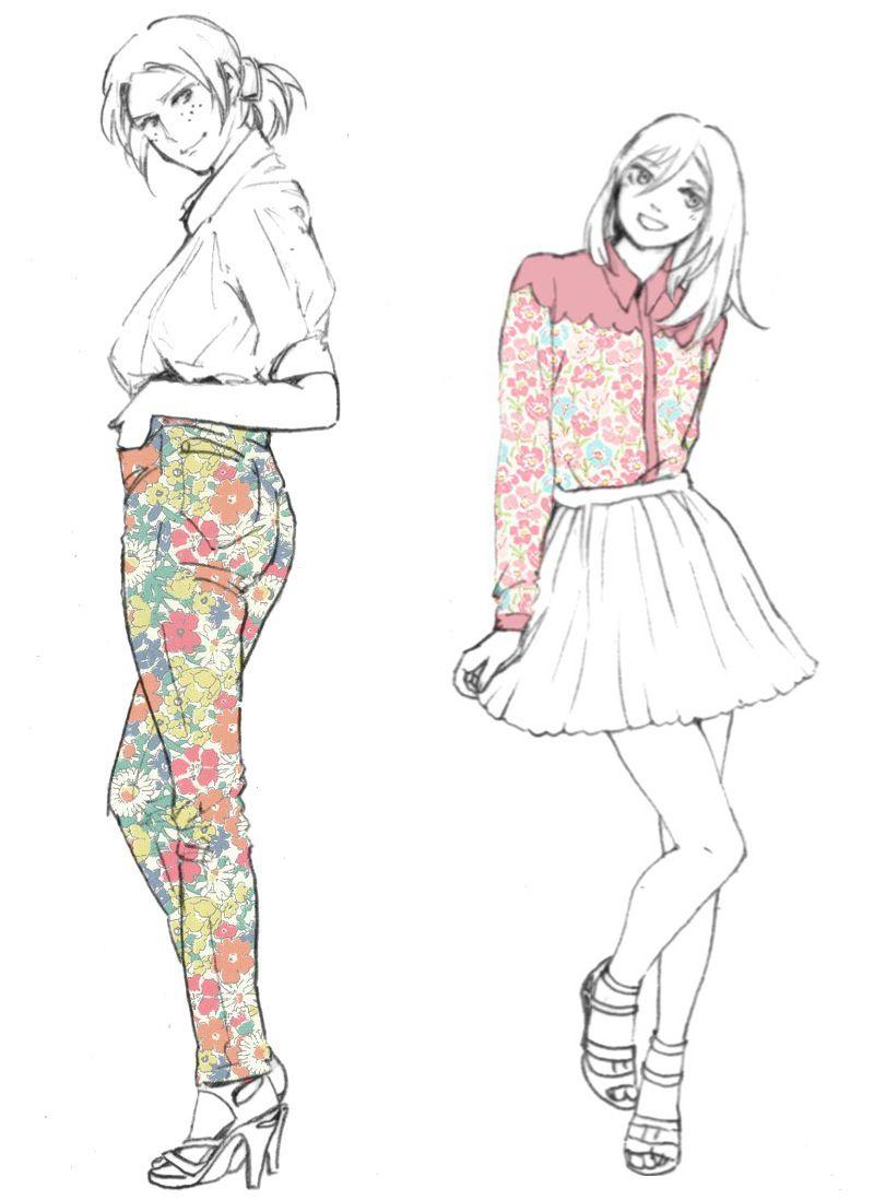Ymir & Christa. Cuties :) #attackontitan  artist: http://www.pixiv.net/member_illust.php?mode=medium&illust_id=42357999
