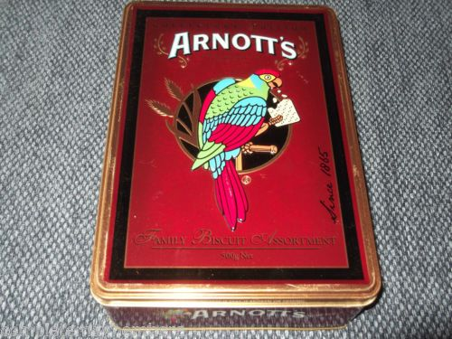 Arnotts Biscuits Coffee Tin