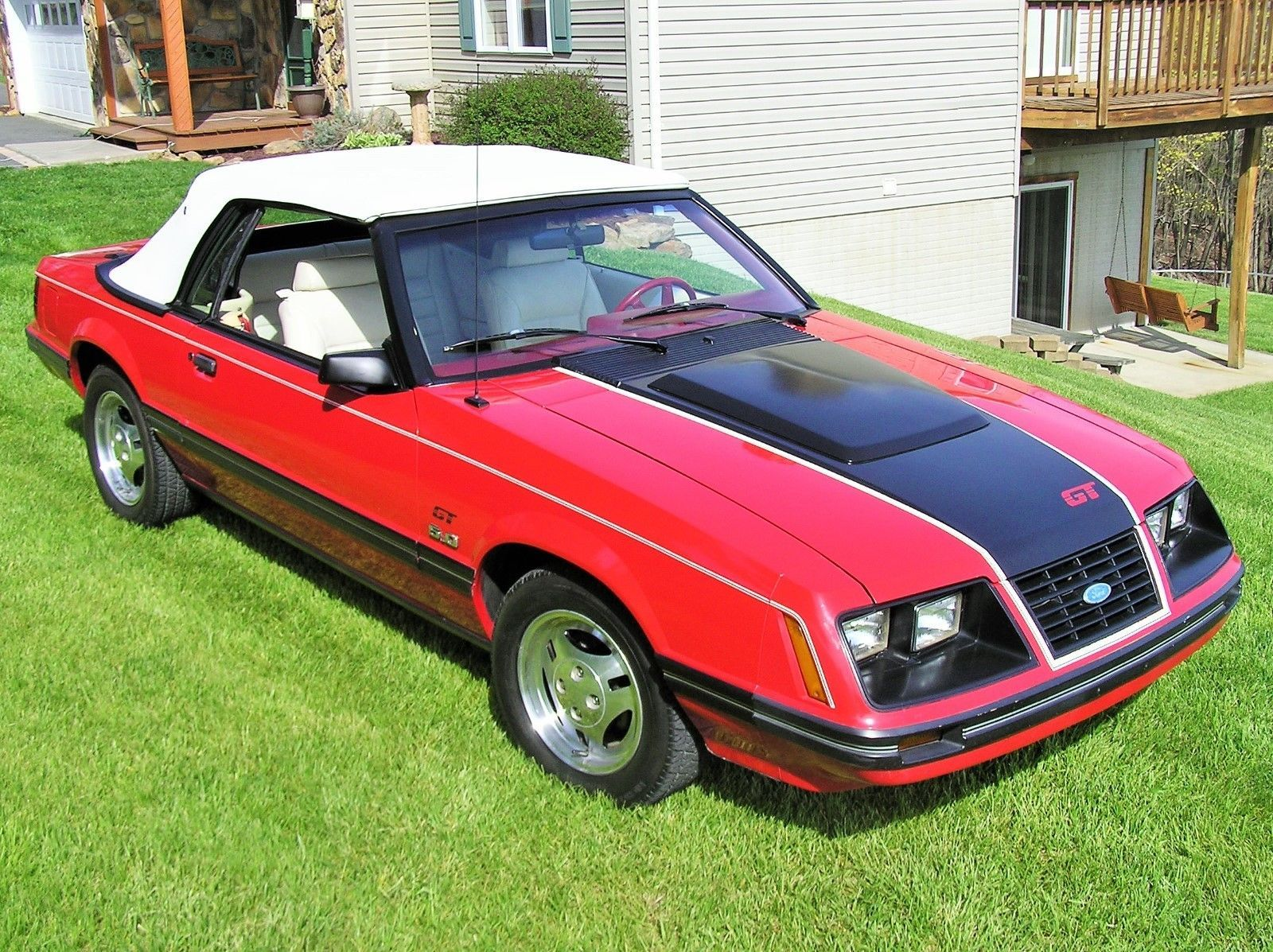 Ebay 1983 ford mustang gt 1983 mustang gt convertible fordmustang