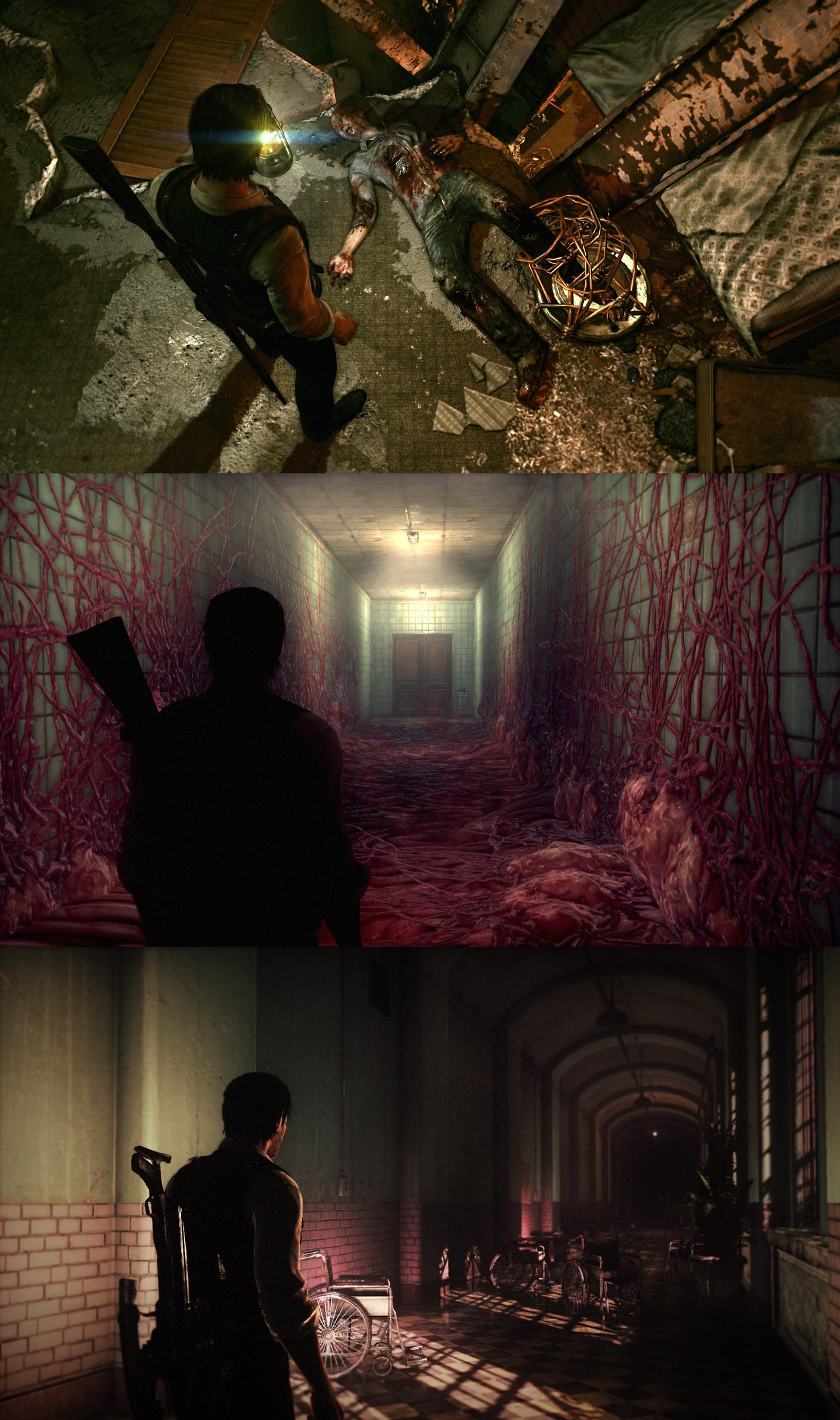 The Evil Within Sebastian Castellanos The Evil Within Evil Dark Creatures