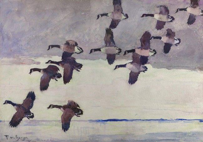 Benson - Flock of Geese