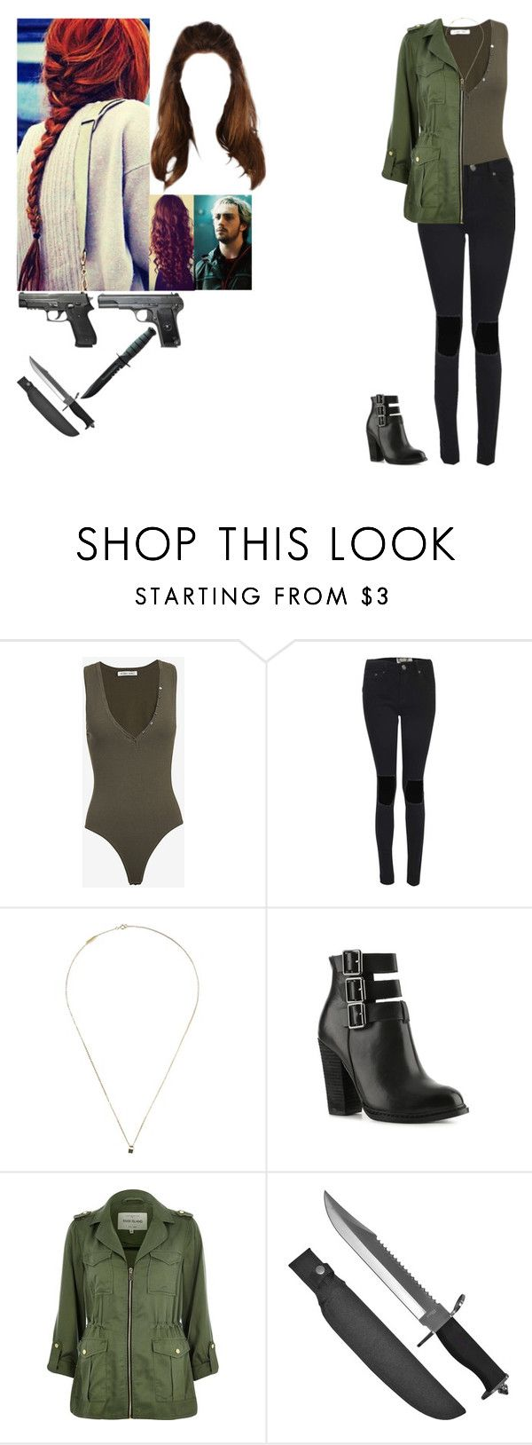 """""""Untitled #744"""" by grace-jaeger ❤ liked on Polyvore featuring Torn by Ronny Kobo, Lauren Klassen, Chinese Laundry, River Island, Whetstone Cutlery and Quiksilver"""