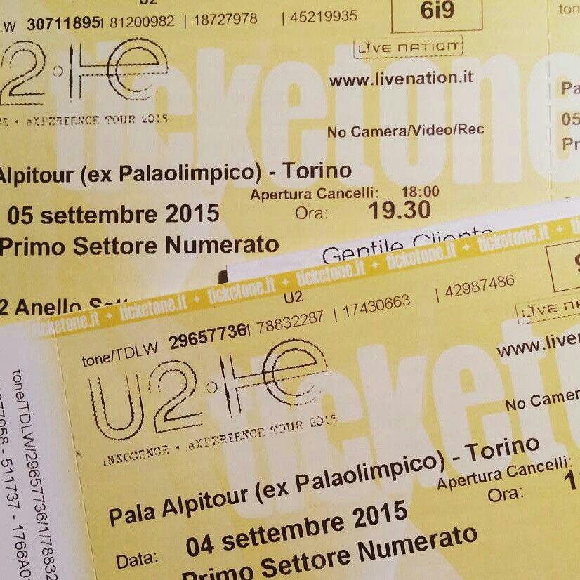 U2 -Ticket Master 2015.