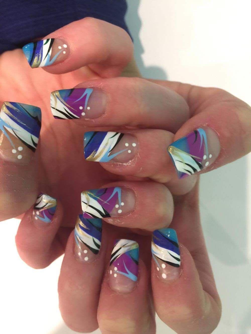 Pin by Marisa Moughan on My crazy nail designs | Pinterest ...