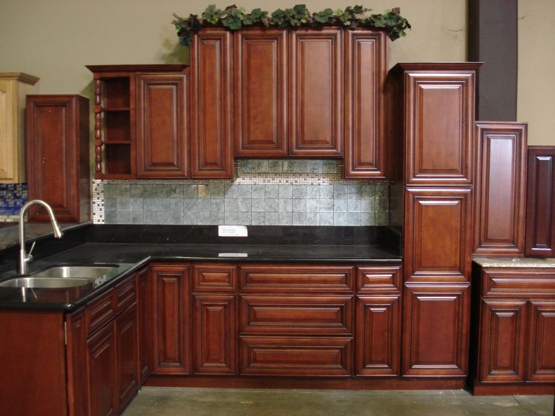 Cherry Rope Kitchen Cabinets