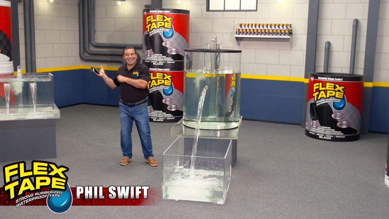 New Flex Tape ™ Commercial with Phil Swift From the makers